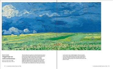 pages from Obras Maestras de van gogh