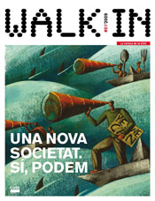 poster revista walk in número 1